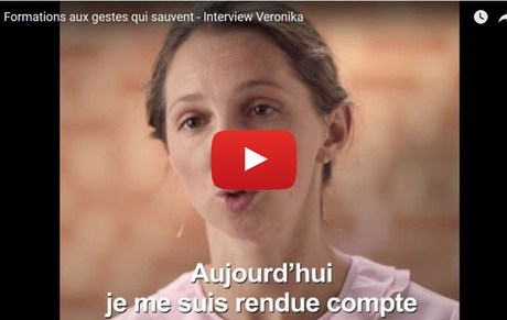 Formations aux gestes qui sauvent - Interview Veronika