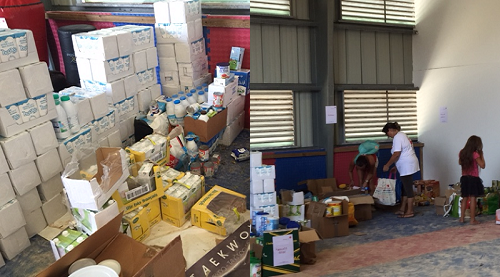 distribution alimentaire saint martin