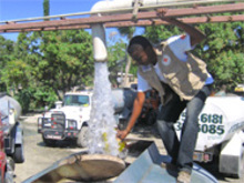 Water trucking - Distribution d'eau potable